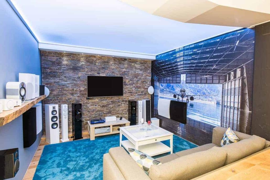Showroom Terminal Lautsprecher Hifi Stereo
