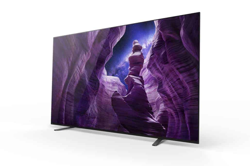 Sony 4K OLED-TV A8 (65 und 55 Zoll)