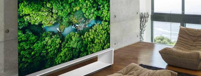 Neue LG 8K OLED und NanoCell TV-Geräten