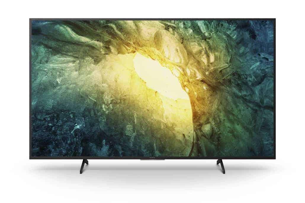 4K-TV X70 (65, 55, 49 und 43 Zoll)