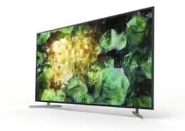 Sony präsentiert neue 8K Full Array LED-Fernseher