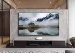 CHiQ A5U UST Laser TV Leinwand im Heimkino