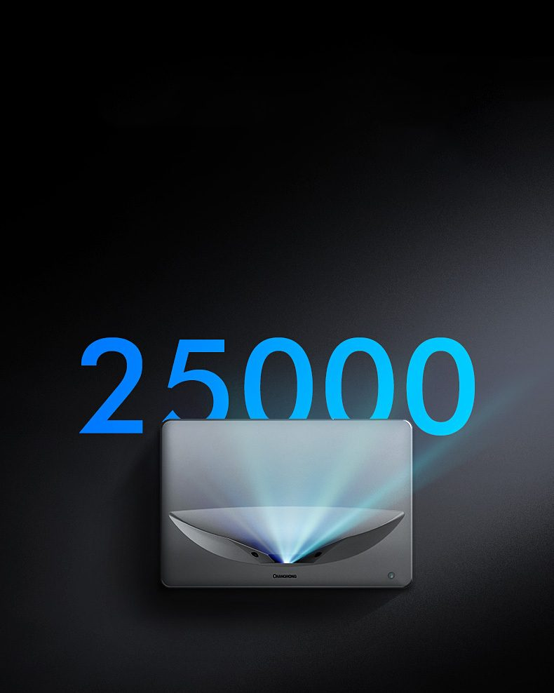 CHiQ B5U UST Laser TV 25000 Stunden Laser
