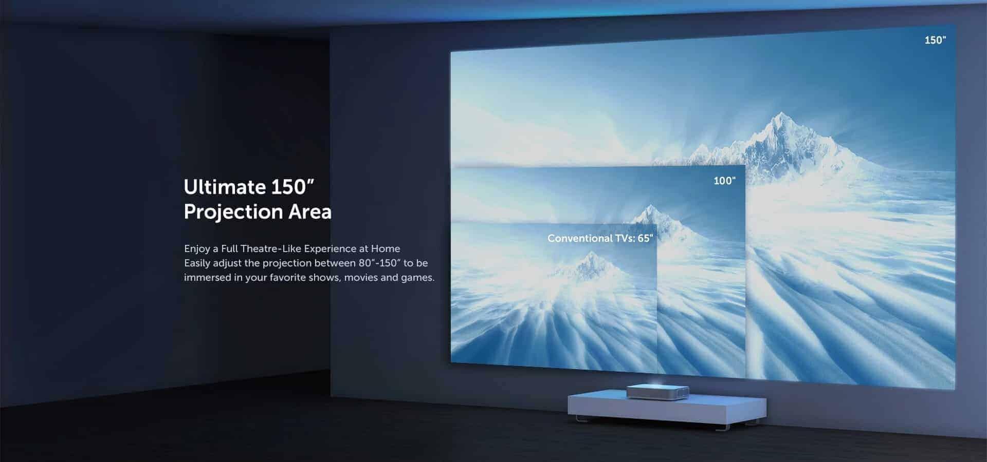 VAVA 4K UHD Laser TV