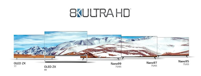 Übersicht LG OLED TVs 2020