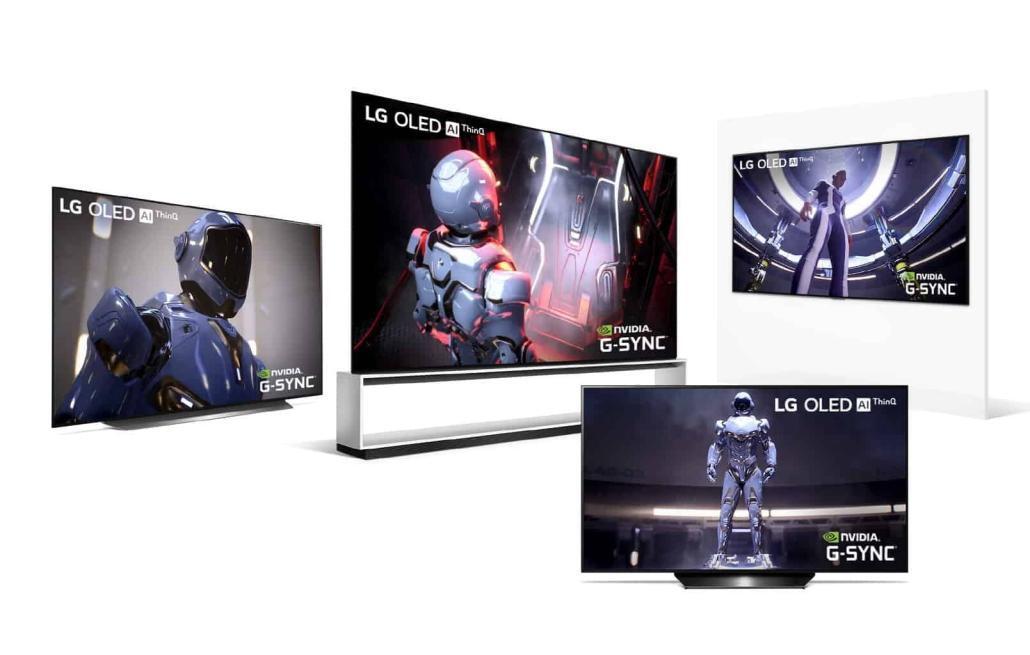 Übersicht LG OLED TVs 2020 G-SYNC