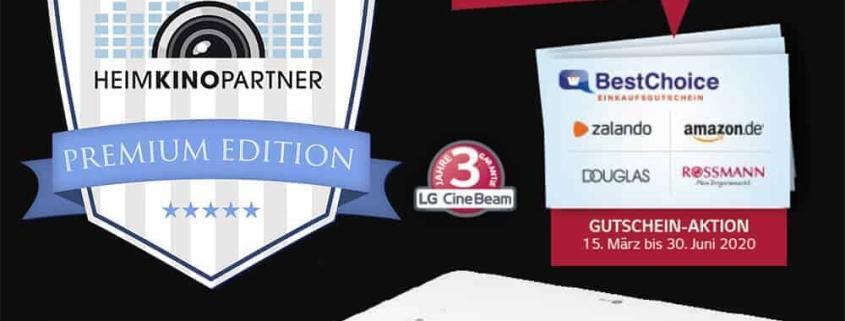 LG CineBeam HU70LS mit 200 Euro Gutschein