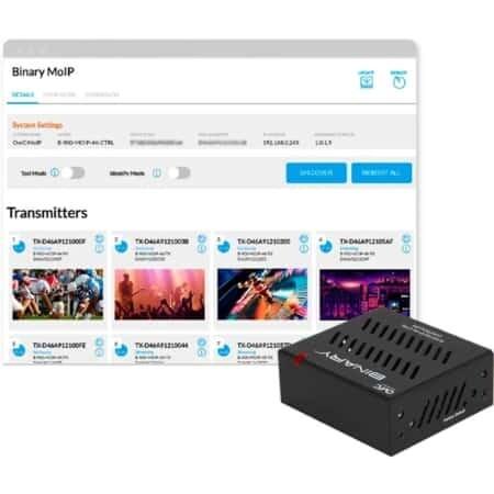Binary B-900-MOIP-4K-CTRL Media over IP Controller