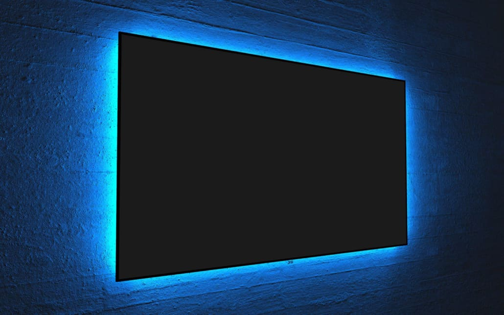 Screen Innovations Zero Edge Rahmenleinwand