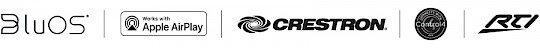 BluOS RTI Control4 Crestron Apple