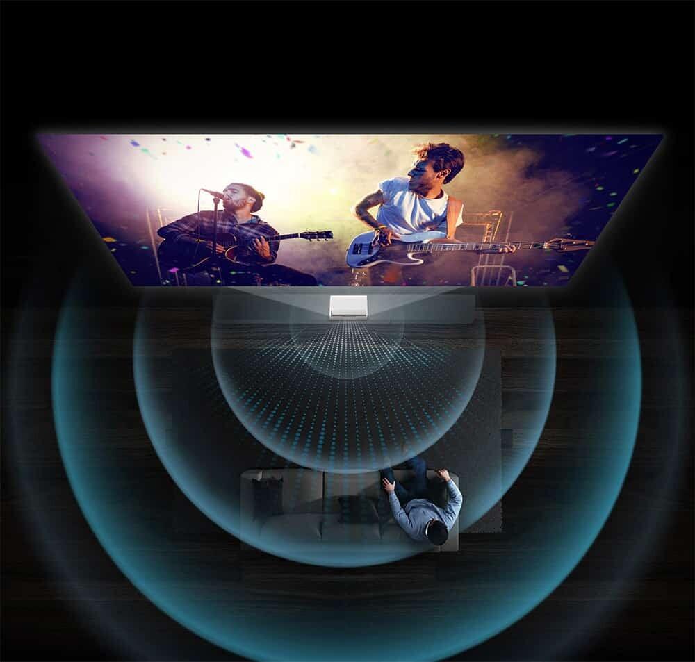 Samsung LSP9T Sound