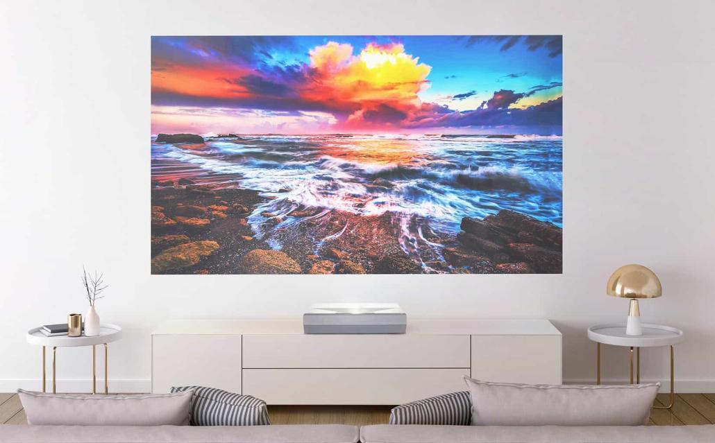 Optoma UHZ60UST - 4K Laser TV Ultra-Short