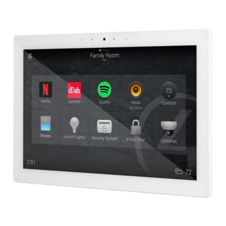Control4 T4 In-Wall Touch Screen