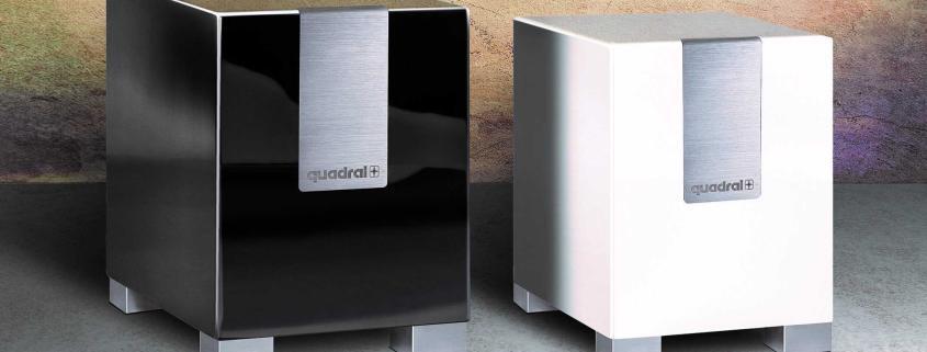 Quadral QUBE CS10 & S8 ideale Tiefbassergänzung