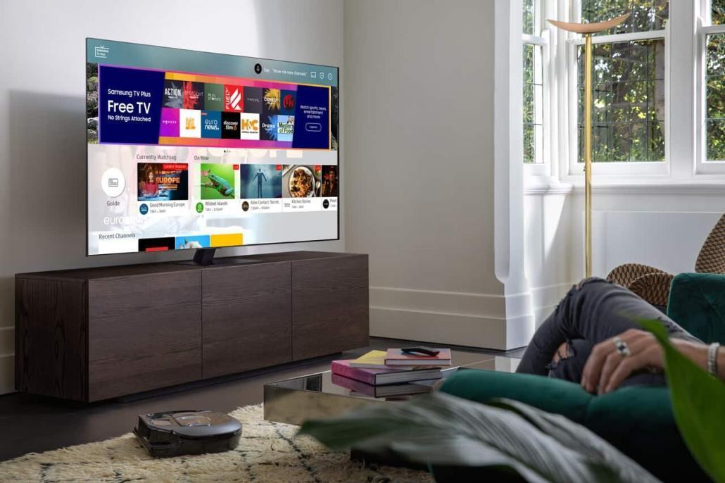 Samsung TV Plus erhält ein umfangreiches Update