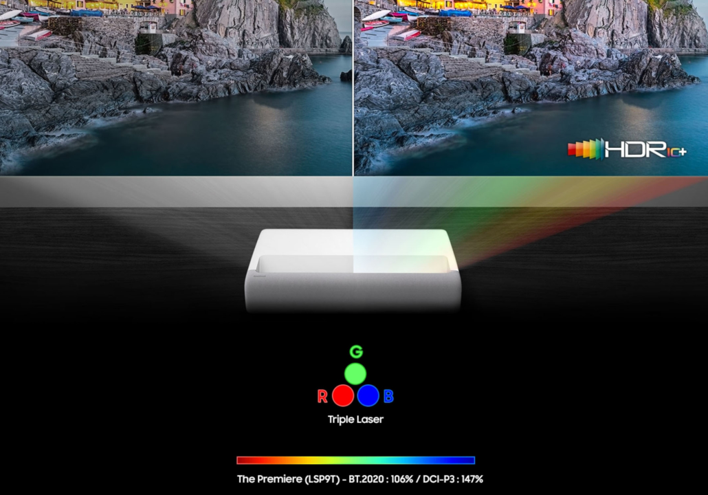 Samsung The Premiere LSP9T Trippel Laser