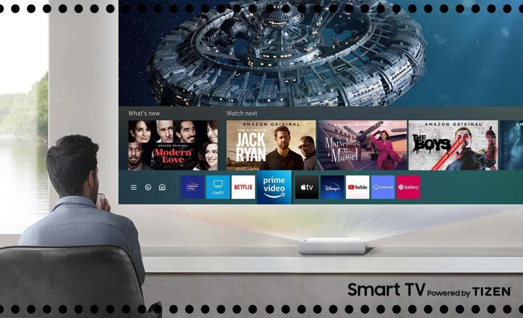 Samsung Tizen Smart Projector Smart TV