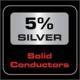 AudioQuest Carbon 48 5% Silber
