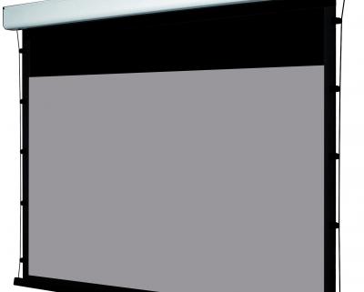 GrandCinema Grey High Contrast Motorleinwand