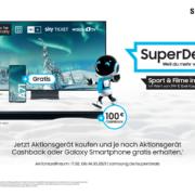 Die Samsung TV SuperDeals sind zurück