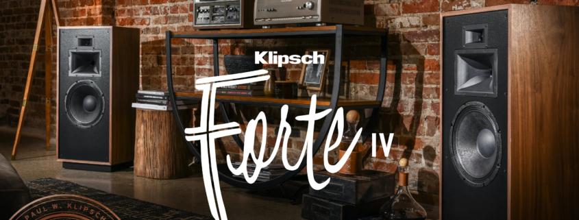 Klipsch Forte IV neuer Heritage-Lautsprecher