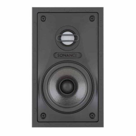 "4"" - 2-Wege - Lautsprechersystem im VP Design, 100 Watt, ausrichtb. HT mit Pegelschalter, rechteckig"