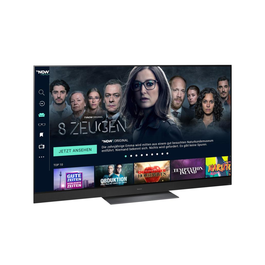 TVNOW ab sofort auf Panasonic TVs