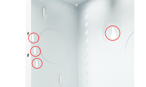 Strong® VersaBox™ | Recessed Flat Panel Solution