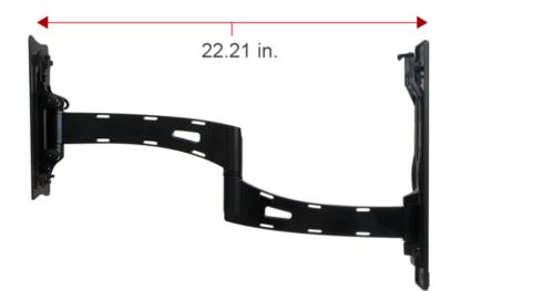 "Strong® Razor Single-Arm 22-50"""