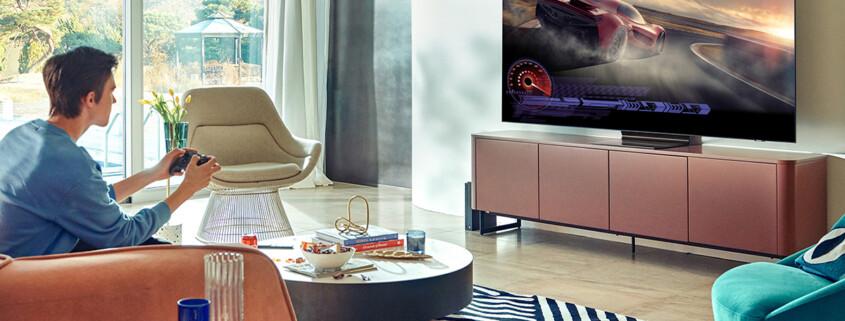 Samsung erhält Gaming TV Performance Zertifikat
