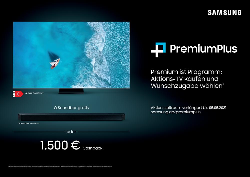 Samsung verlängert PremiumPlus Aktion