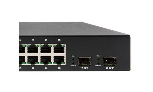 Araknis Networks® L2 Managed Gigabit Switch mit Front-Ports