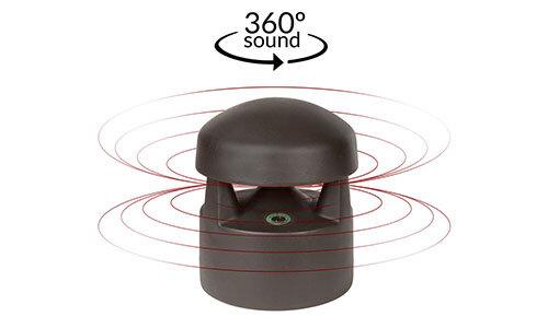 Episode® ES-AW-360-6-BRN Landscape 360°