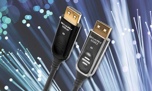 Binary™ B8 Active Fiber 4K Ultra HD HDMI