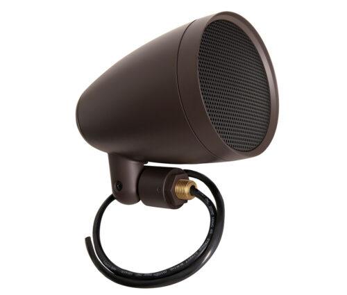 Die Satelliten-Lautsprecher der Episode® Landscape Serie fügen sich gekonnt in Außenbereiche ein, minimieren die optische Wirkung und maximieren die Leistung.