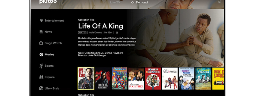 LG webOS: Browser-Updates, Spotify Video Podcast und neue Pluto TV-App