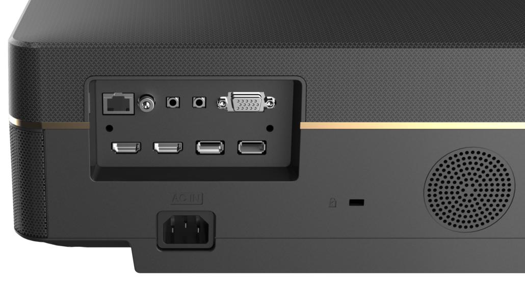 Der CHiQ V8S 4K Laser UST Projektor ist die nächste Generation von Chiq Projektoren nach dem preisgekrönten B5U. Das neue V8S-Heimkino bietet hohe Helligkeit, verbesserten Kontrast mit 8-Punkt-Trapezkorrektur und sehr dezente offizielle 2500 Ansi-Lumen.