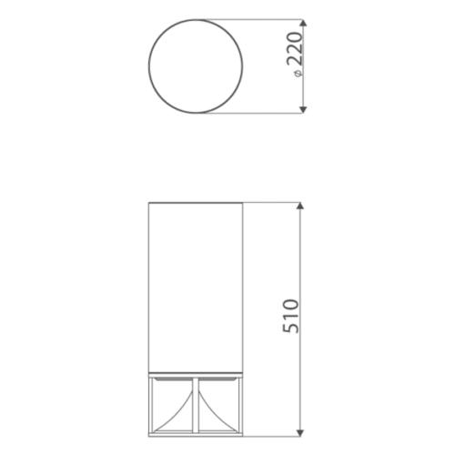 Architettura Sonora Tall Cylinder