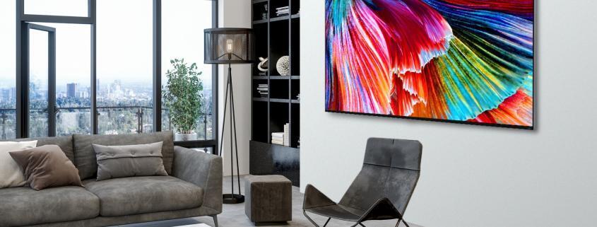 Weltweite Einfuehrüng LG QNED MINILED TVs