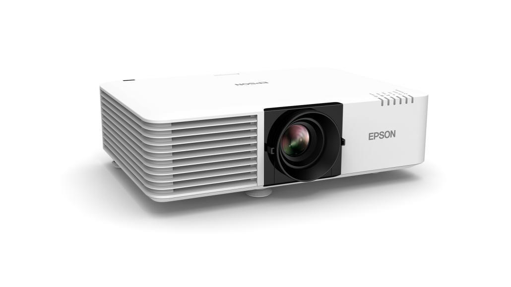 Die neuen Laserprojektoren der EB-L7xx, Serie bieten eine Weiß- und Farbhelligkeit von bis zu 7.000 Lumen. (Bild: Epson EB-L700)