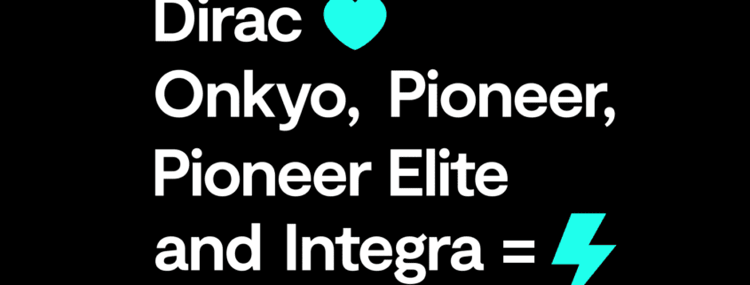 Dirac Live in den neuen Receivern von Onkyo, Pioneer, Pioneer Elite und Integra