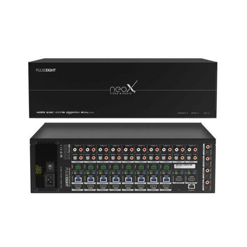 Pulse-Eight neoX+ Video & Audio Matrix