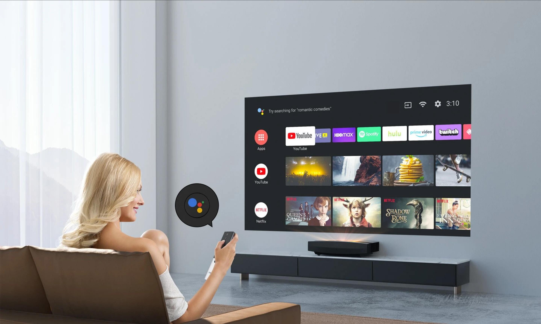 XGIMI Aura 4K Ultrakurzdistanz-Laserprojektor AndroidTV
